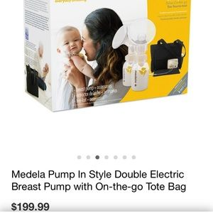 Medela pump in style advanced (never been used)